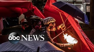 'Citizen X' and Hong Kong protesters' battle for freedom   Nightline