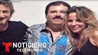 Difieren versiones de Del Castillo y Penn sobre El Chapo | Noticiero | Noticias Telemundo