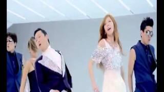 Gangnam Style PSY ft  Hyuna español Oficial HD
