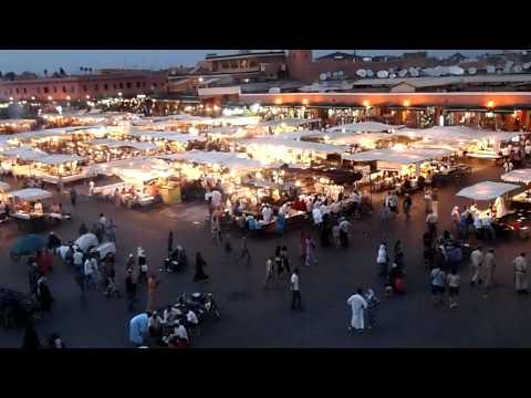 モロッコ・マラケシュのフナ広場⑥(10.09.23)