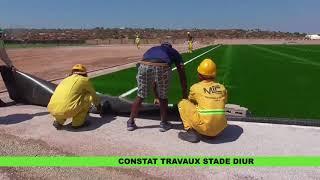 CONSTAT DES TRAVAUX STADE DIUR width=