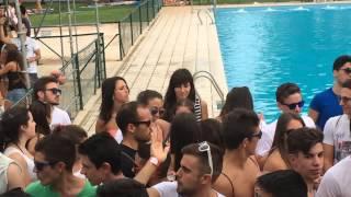 David Lopez Dj@AquaLoca Pool Party 2015 (Moral) Subida Hum