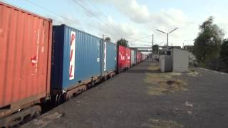 LISTEN TO HONKING & TERRIFIC BLOWER SOUNDS OF 3900HP WAG-5 LOCOMOTIVE