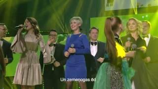 Dzeguzīte un Draugi - Kur dzīvo laime (Official live lyric video)