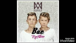 Bae - Marcus & Martinus (Lyrics/Letra - English/Español)
