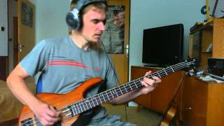 Harlej Než to s náma půjde ke dnu bass cover