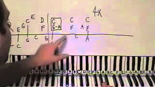 Piano Lesson Tiny Dancer Elton John Shawn Cheek Tutorial