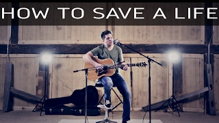 How To Save A Life - The Fray (Acoustic Cover by LANCE HORSLEY) 2017