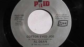 AL DEAN COTTON EYED JOE  PAID RECORDS 1967