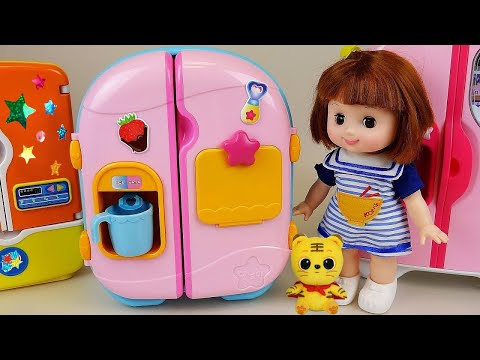 Download Video Baby Doll Refrigerator And Food Toys Play