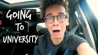 I'M GOING TO UNIVERSITY