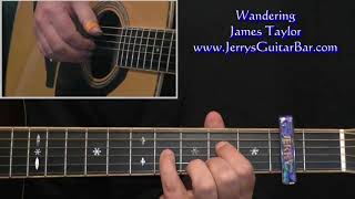 Wandering James Taylor Intro Lesson