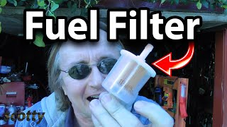 Where Is Your Fuel Filter Hiding
