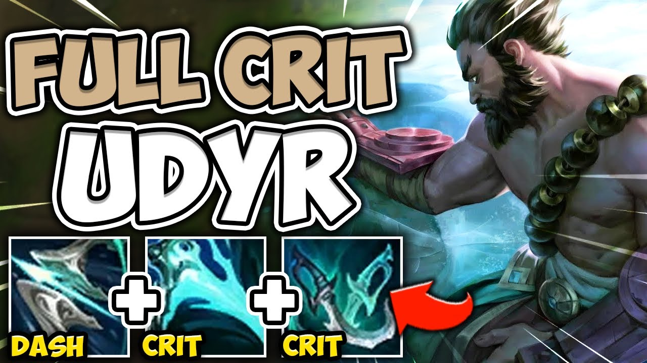 MetaSolaray - WATCH UDYR DEAL 6000 DAMAGE IN 2.5 SECONDS WITH FULL CRIT UDYR! (NOBODY IS SAFE)