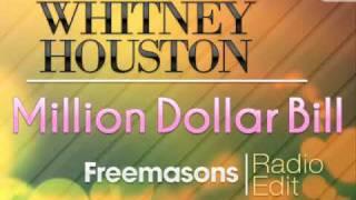 Whitney Houston Million Dollar Bill Freemasons Radio Edit