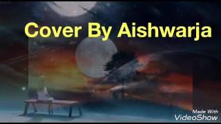 Anondoloke Mongol Aloke (Rabindra Song)Guitar Cover By Aishwarja