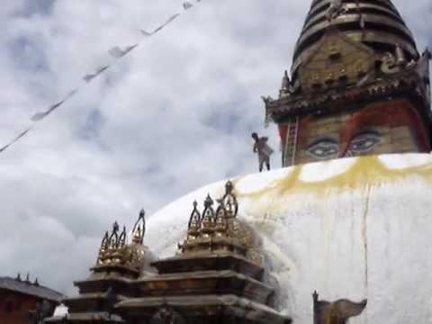 Kathmandu, Nepal – Buddhist Meditation – Stupa