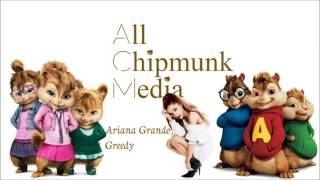 Ariana Grande - Greedy (Preformed By The Chipmunks)