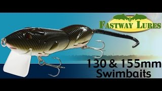 FastWay Lures Rat Swimming Action Demonstration Video 2