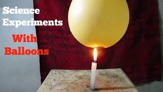 Science Experiments - Easy Science Experiments Using Balloons
