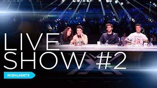 X Factor in 3 minuti: Live Show #2