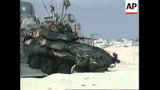 Somalia - US & Italian Troops Arrive In Mogadishu