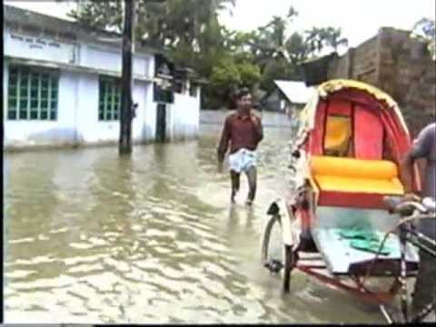 Bangladesh Flood 2004, Monsoon Season, Sylhet, Sunamganj (Sunamgonj) Mowlvibazar, Habiganj