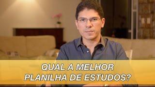 Como montar uma Planilha de Estudos para Concursos?   Gerson Aragão