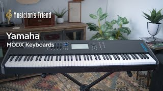 Yamaha MODX Demo and Overview - All Playing, No Talking