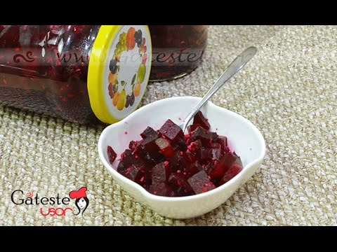 Reteta de Salata de Sfecla cu Hrean la Borcan
