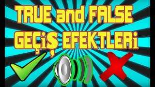 True and False Sound Effects | Correct and Wrong Sound Effect | Doğru ve Yanlış Ses Efektleri