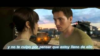The Crystal Method ft.  Dia Frampton - Over It [ Beyond Two Souls ] (Subtitulada)