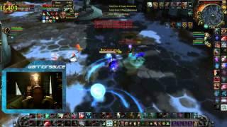 "2v2 Arena: Warrior / Hunter ""Kite Master Sauce"" Live-Stream Footage (Stephen Hawking Cleave)"