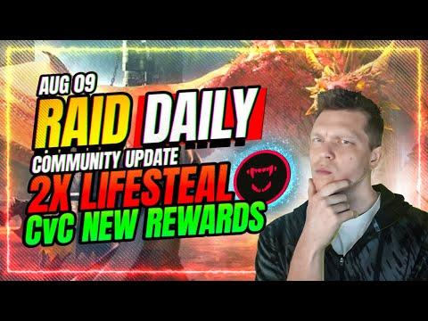 Lifesteal Event EPICS ONLY! CvC TOMORROW! | RAID Shadow Legends
