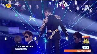 【LAY/張藝興】ZhangYiXing BOSS Performance HuNan  Mango TV New Year EVE.