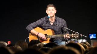 Jensen Ackles singing Sweet home Alabama and changing lyrics JIB VI - 16.05.2015