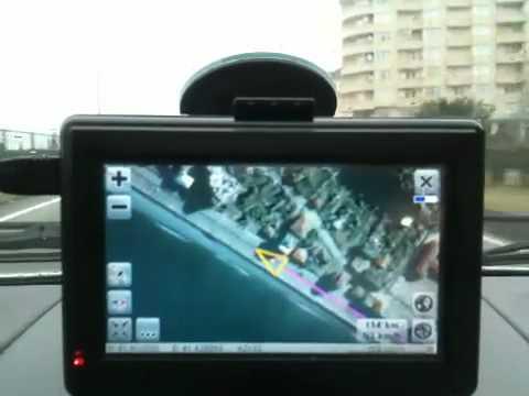 Uydu görüntülü GPS - Uydu Fotoğraflı Navigasyon