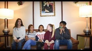 Kids United au micro de Matin TV