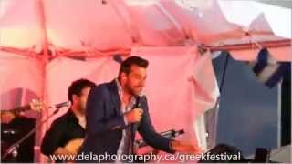 Thanos Petrelis Performing Adiorthoti At The 2014 Toronto Greek Community Summer Festival