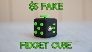 $5 Fake Fidget Cube
