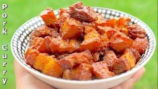 Pork Curry Recipe - Nepali Style - Yummy Nepali Food Recipe!