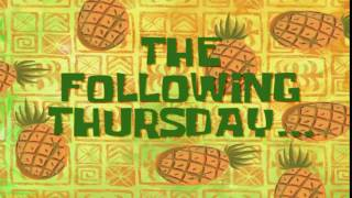 The Following Thursday... | SpongeBob Time Card #63