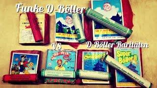 Böllervergleich Funke D Böller VS. ältere Böller | Vergleichtstest