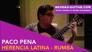 Paco Peña: Herencia Latina - Played by Ali Jadbabaie, PhD