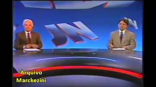 Jornal Nacional - Imagens Históricas (Globo/1990)