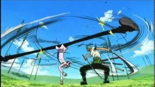 Zoro vs Sanji - Davy Back Fight width=