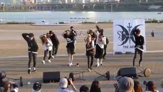 230515 The Ark (디아크) - BTS Boy In Luv dance cover - Ttukseom Hangang Park 버스킹