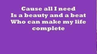 Justin Bieber ft Nicki Minaj - Beauty and A Beat Lyrics