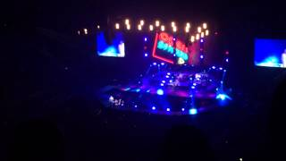 The vamps O2 arena London 2nd of May,high view