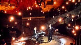 Robbie Williams - Eternity - With Guy Chambers - O2 London